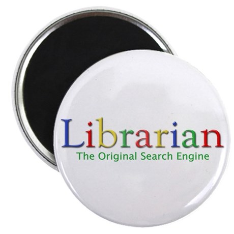 "Librarian 2.25"" Magnet (10 pack)"