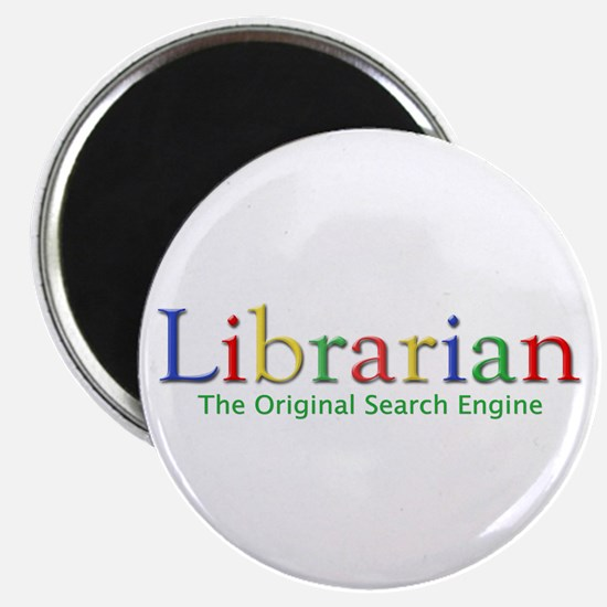 """Librarian 2.25"""" Magnet (10 pack)"""