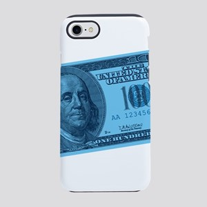 100-dollar-closeup_blue.png iPhone 7 Tough Case