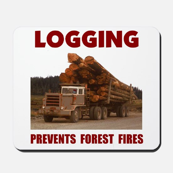 SAVE THE FORESTS Mousepad