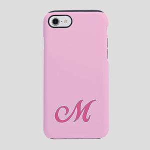 -pink-initial_M_ff iPhone 7 Tough Case
