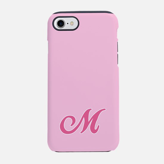 -pink-initial_M_ff.png iPhone 7 Tough Case