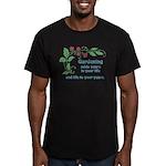 Gardening adds Years Men's Fitted T-Shirt (dark)