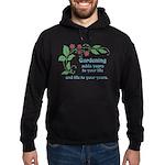 Gardening adds Years Hoodie (dark)