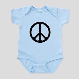 Black CND logo Infant Bodysuit