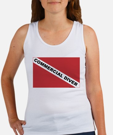 Commercial Diver Women's Tank Top