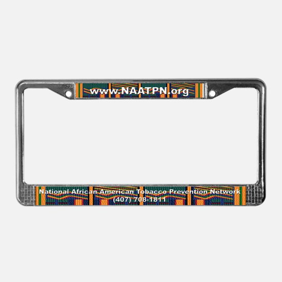 Cool Lung cancer License Plate Frame
