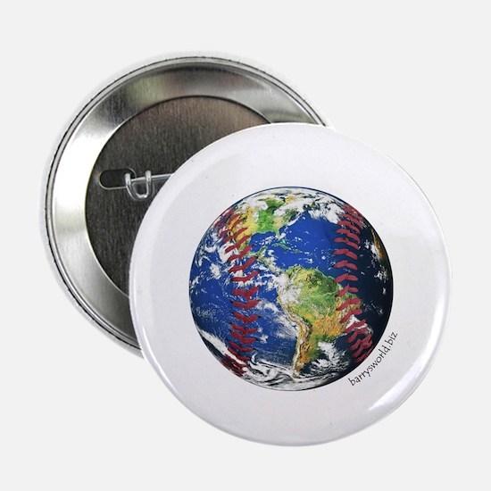 "Baseball Earth 2.25"" Button (10 pack)"