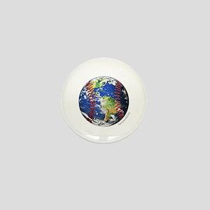 Baseball Earth Mini Button (10 pack)