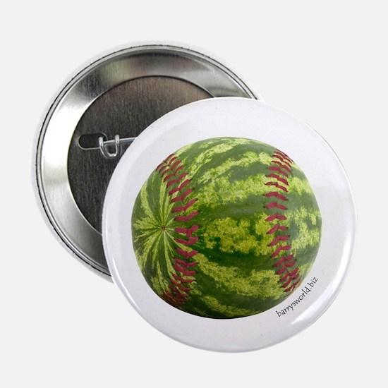 """Baseball Melon 2.25"""" Button (10 pack)"""