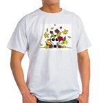 Corgi in Fall Leaves T-Shirt
