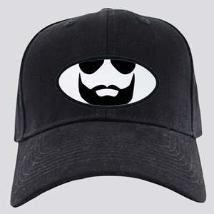 Vintage wolfpack character Al Black Cap with Patch