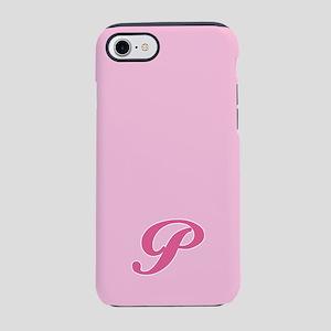 -pink-initial_P_ff iPhone 7 Tough Case