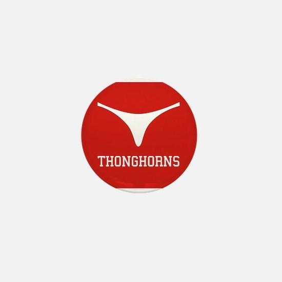 Thonghorns Mini Button