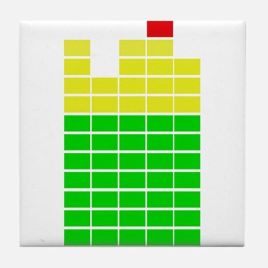 LED Meter Tile Coaster