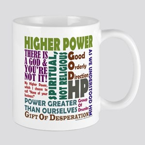 Higher Power Recovery Mugs