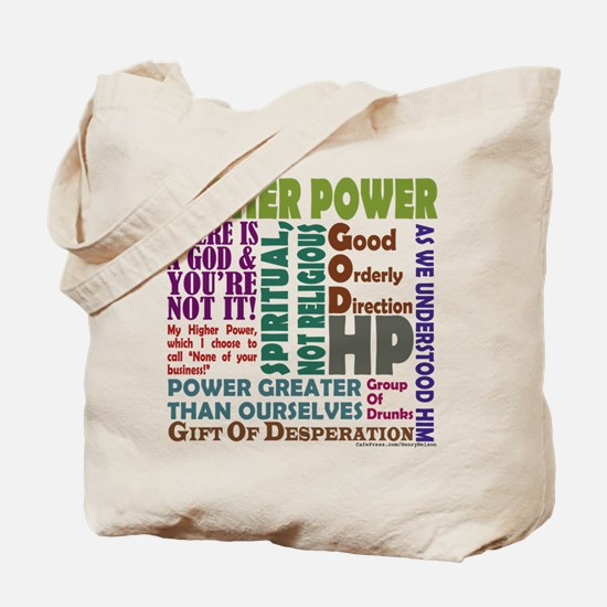 Higher Power Recovery Tote Bag