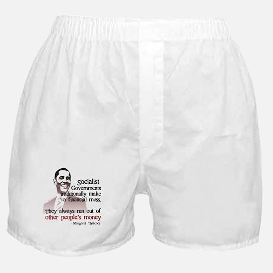 Unique Obama money Boxer Shorts