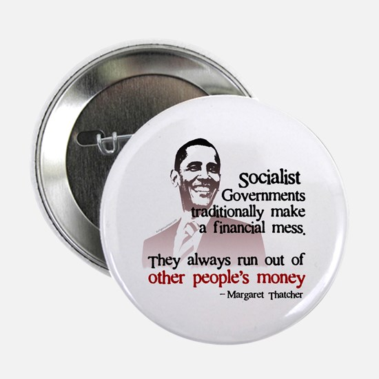 "Funny Obama money 2.25"" Button"