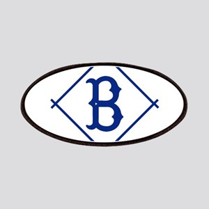 Vintage Brooklyn Dodgers B Diamond design Patch