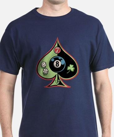8 of Spades T-Shirt