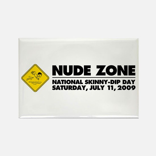 National Skinny-Dip Day Rectangle Magnet (10 pack)