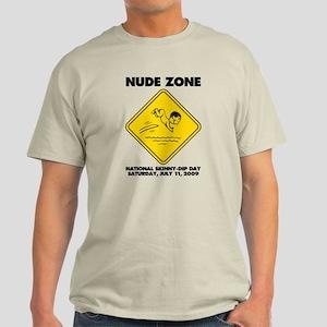 National Skinny-Dip Day Light T-Shirt