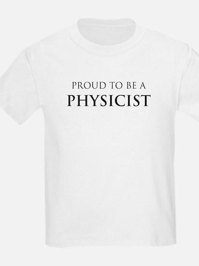 Proud Physicist Kids T-Shirt