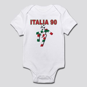 Retro 1990 Italia world cup Infant Bodysuit