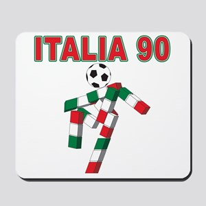 Retro 1990 Italia world cup Mousepad