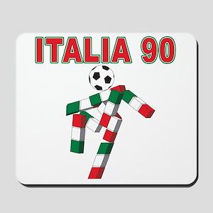 Retro 1990 Italia world cup Mousepad