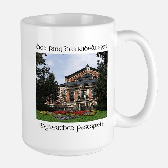 Bayreuth Ring Cycle Large Mug