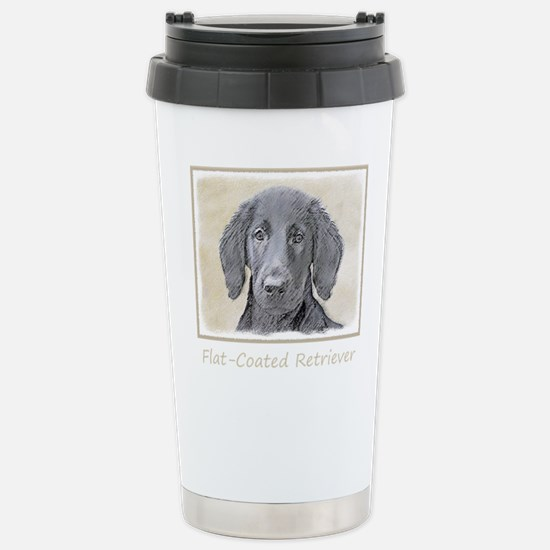 Flat-Coated Retri Travel Mug