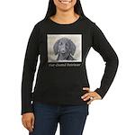 Flat-Coated Retri Women's Long Sleeve Dark T-Shirt