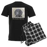Flat-Coated Retriever Men's Dark Pajamas