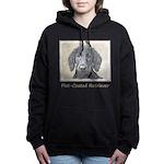 Flat-Coated Retriever Women's Hooded Sweatshirt
