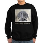 Flat-Coated Retriever Sweatshirt (dark)