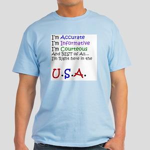 Call Center Light T-Shirt
