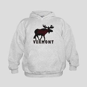 Vermont Moose Kids Hoodie