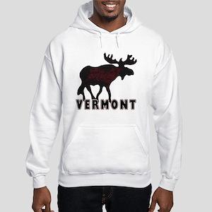 Vermont Moose Hooded Sweatshirt