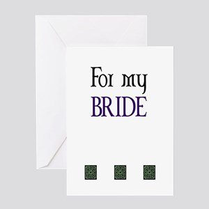 Whither thou goest Greeting Card