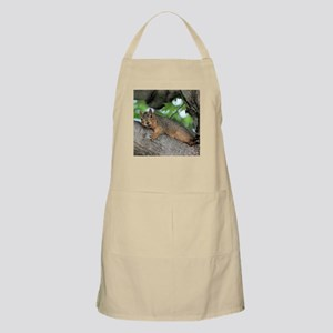 Squirrel Light Apron