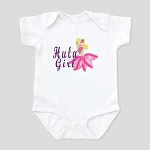 Hula Girl Infant Bodysuit