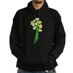 Little Daisy Bouquet Hoodie (dark)