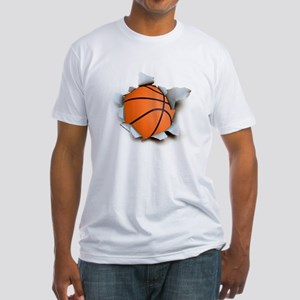 Basketball Burster Fitted T-Shirt