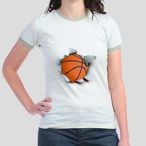 Basketball Burster Jr. Ringer T-Shirt