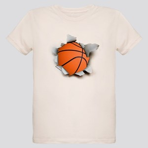 Basketball Burster Organic Kids T-Shirt