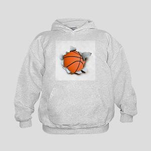 Basketball Burster Kids Hoodie