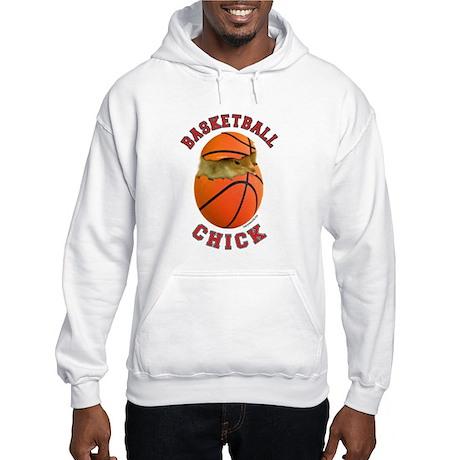Basketball Chick 2 Hooded Sweatshirt