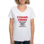 Tower 7 Mystery Women's V-Neck T-Shirt